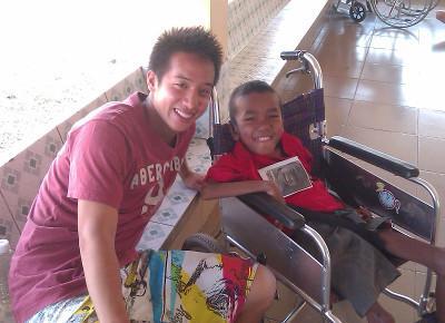 Cambodia volunteering