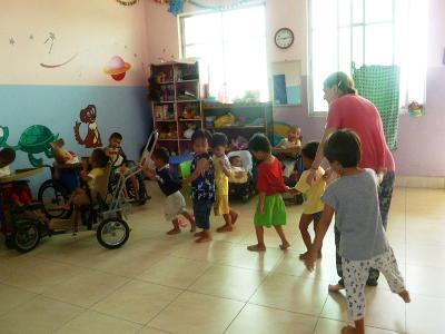Care work in Cambodia