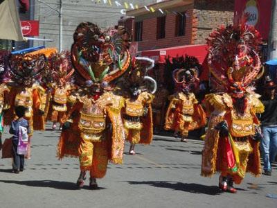 Festival at Quillacollo