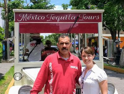 Kate exploring Mexico