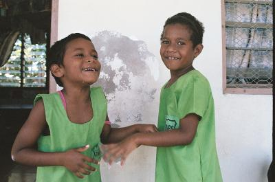 Children in a Fiji Care Placement