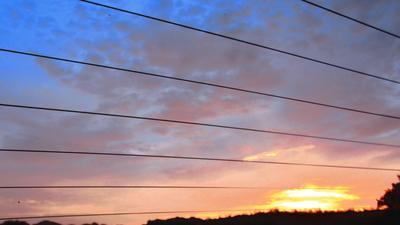 A beautiful Costa Rican sunset
