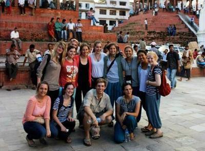 Group trip in Nepal