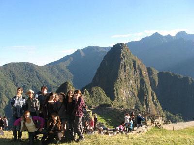 Volunteer in Peru