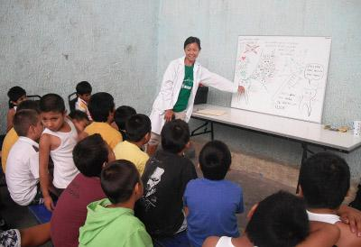 Dental outreach project in Mexico