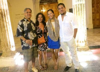 Host family in Mexico