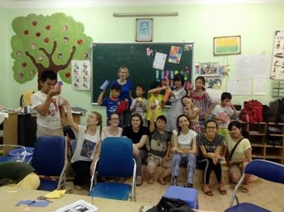 Volunteering in Vietnam