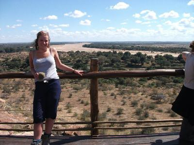 Laura in South Africa