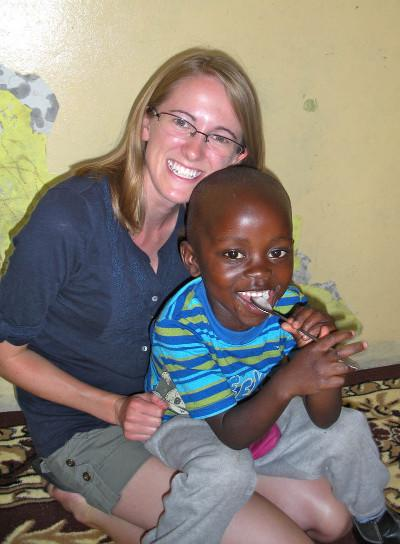 Volunteering at care project in South Africa
