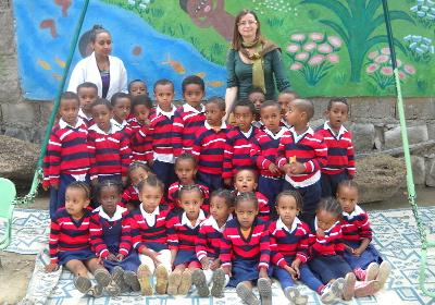 Students in Ethiopia