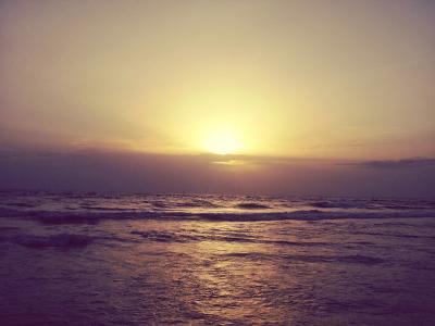 Sri Lankan sun set