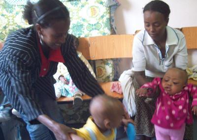 Working with children