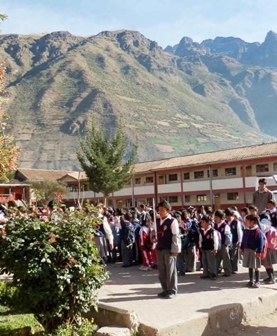 Teaching project in Peru
