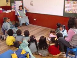 At my kindergarten