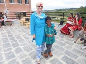 Dashain Festival at the care centre