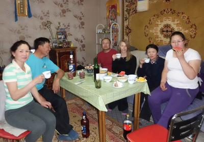 Volunteer host family Mongolia