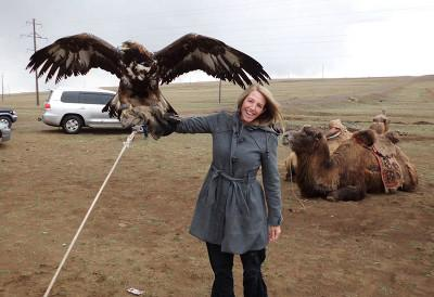 Volunteers trip Mongolia