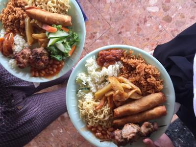 Local food in Ghana