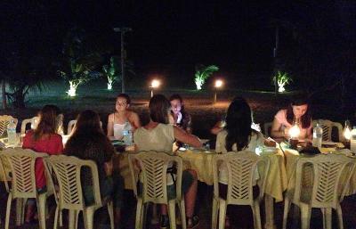Volunteer group meal