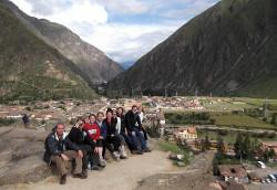 Volunteer's on a Global Gap Program in Peru