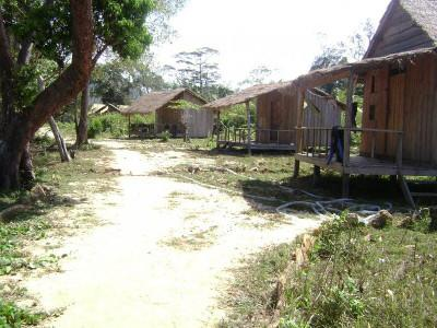 Volunteer bungalows in Cambodia