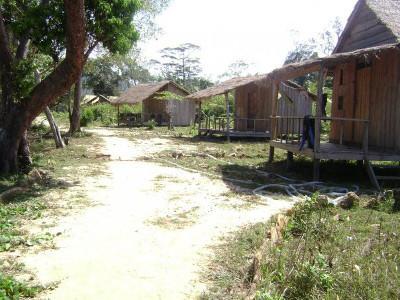 Volunteer bungalows in Cambodia