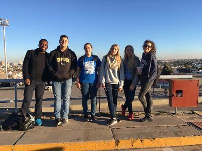 Care & Community volunteers on a weekend trip in Cordoba