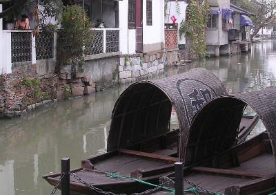 Visiting the Water Town in China