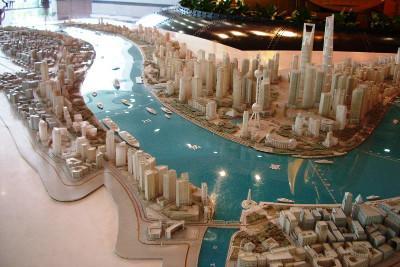Model of Shangai