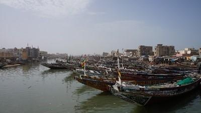 Boats in Senegal