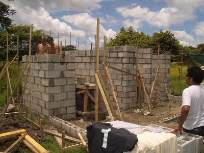 Building the bathroom