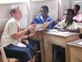 Matt teaching in 2005