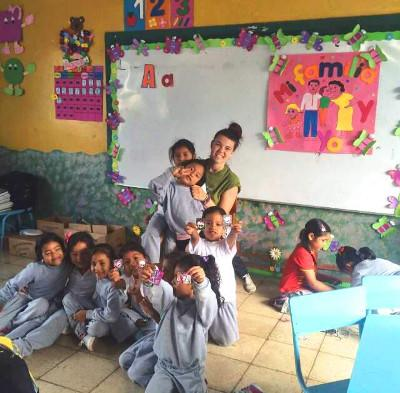 At the Care Project in Ecuador