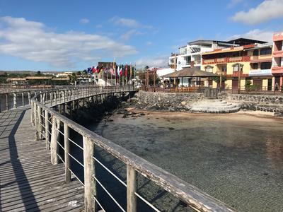 A pier in Ecuador