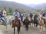 Horse Riding With Other Volunteers