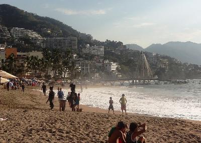 The beach in Mexico