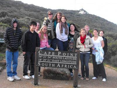 Volunteer group at Cape Point