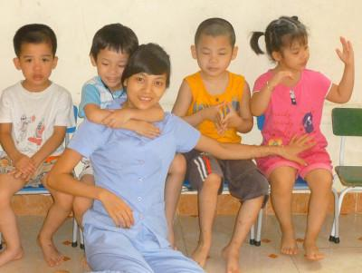 Children at care placement
