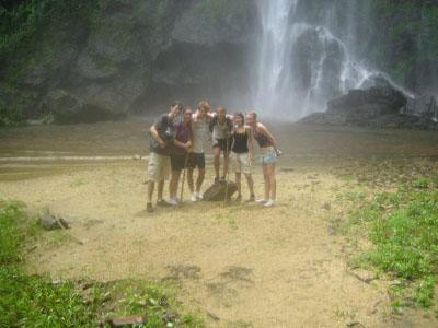 Trip to waterfall