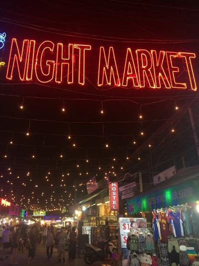 The Night Market in Siem Reap