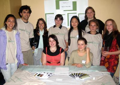 With other Projects Abroad volunteers