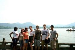 Volunteer group in Hangzhou
