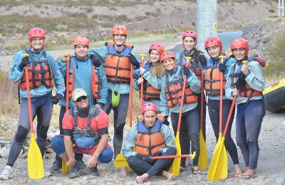Volunteer rafting trip in Argentina
