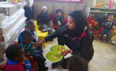 Volunteer project South africa