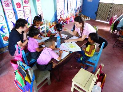 Working with Children in Sri Lanka