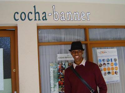 At the Cocha-Banner office