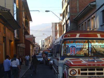 Bolivian traffic