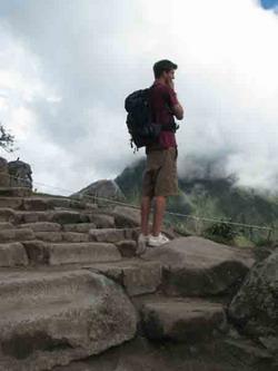 At Macchu Picchu
