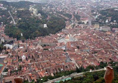 View over Brasov