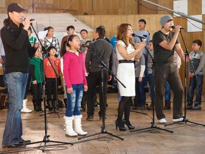 Mongolian pop stars